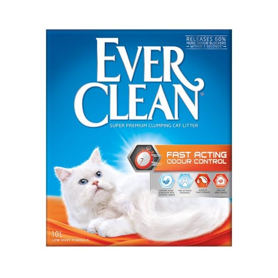 Ever Clean Super Premium Clumping Cat Litter Fast Acting Odour Control Product Front Image